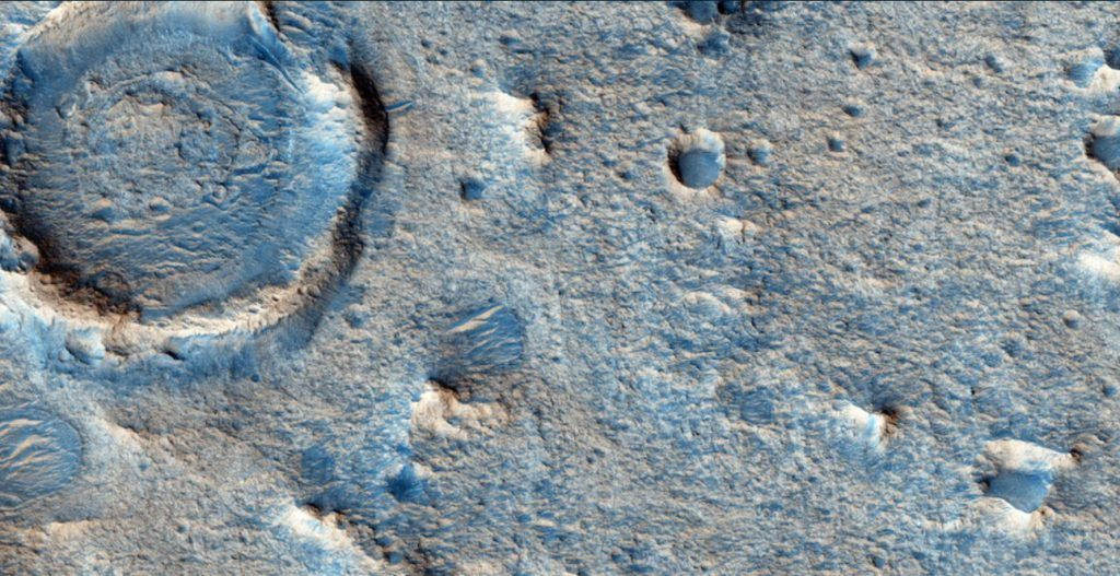 Close up of Oxia Planum, the rover landing site. | Image from ESA